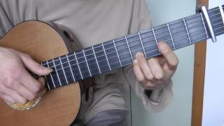 tuto guitare - coldplay : viva la vida (2/2) ponts