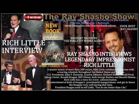 EXCLUSIVE:RICH LITTLE LEGENDARY IMPRESSIONIST ON THE RAY SHASHO SHOW