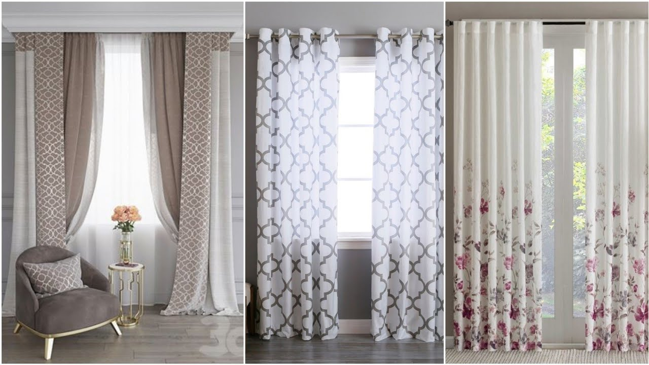 100 modern curtain design ideas window curtains for living rooms 2021