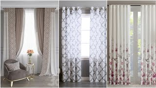100 Modern Curtain Design Ideas - Window Curtains For Living Rooms 2020