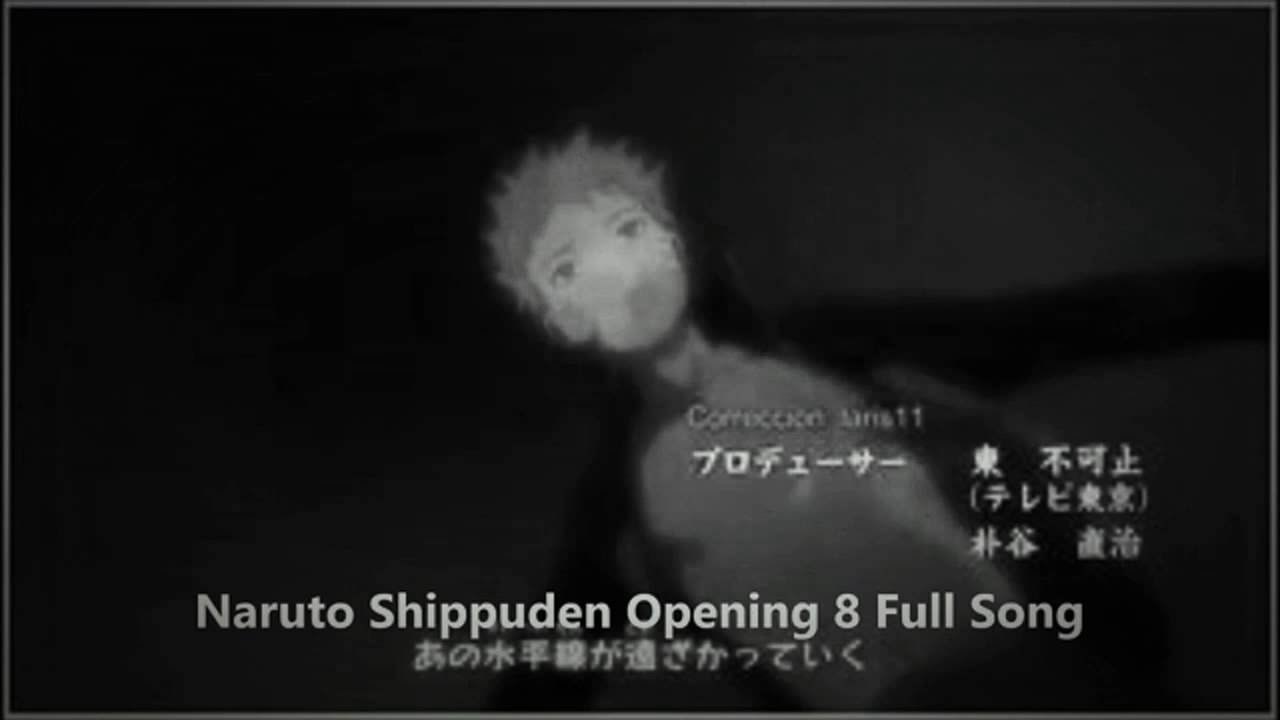 Opening 8 Naruto `Diver` by NICO full song