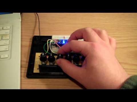 tetraStream 7-knob music generating machine!
