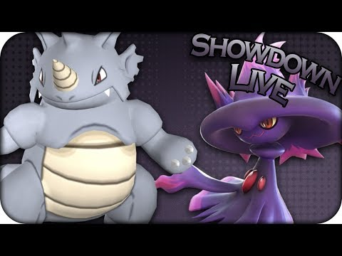 RHYDON BUSTS A MOVE! - Pokemon Ultra Sun and Ultra Moon NU Showdown Live
