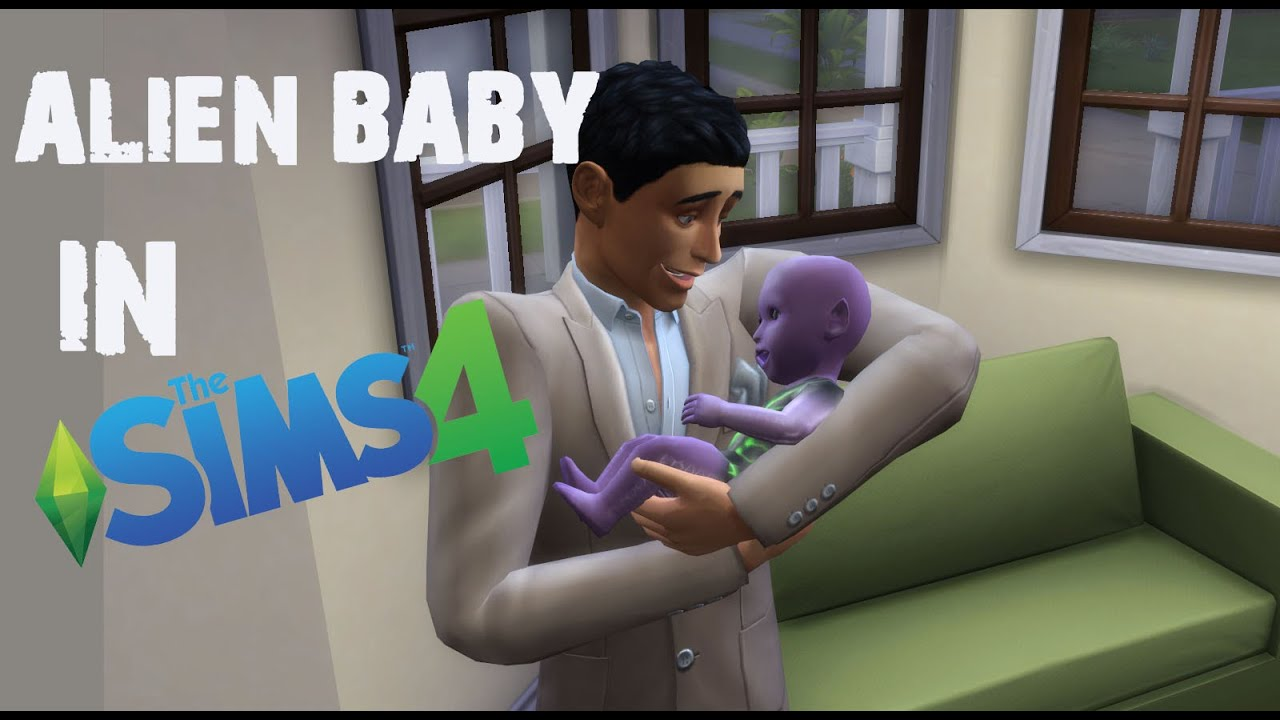The Sims 4: Stages of Alien Pregnancy