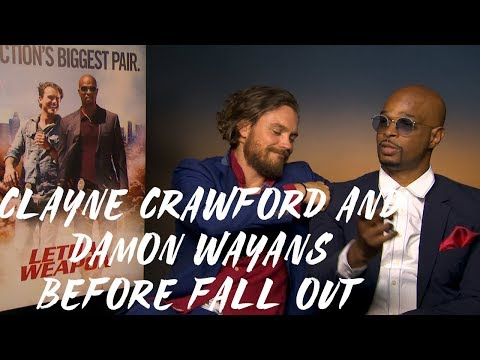 Lethal Weapon: Clayne Crawford and Damon Wayans before the fall out (WITH AUDIO OF THEIR ARGUMENT)