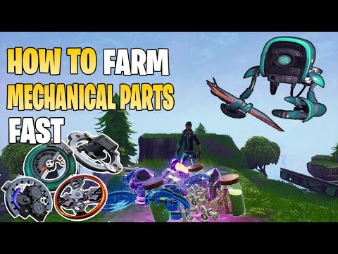 how to farm mechanical parts fast fortnite save the world pve sturdy sleek mechanical parts - fortnite mechanical parts farming