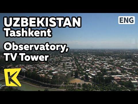 【K】Uzbekistan Travel-Tashkent[우즈베키스탄 여행-타슈켄트]해발 100M 도시 전망대, TV타워/TV Tower/Observatory