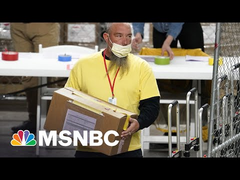 Actual Elections Experts Head To Arizona As Trump, GOP Fixates On Clumsy 'Audit' Stunt