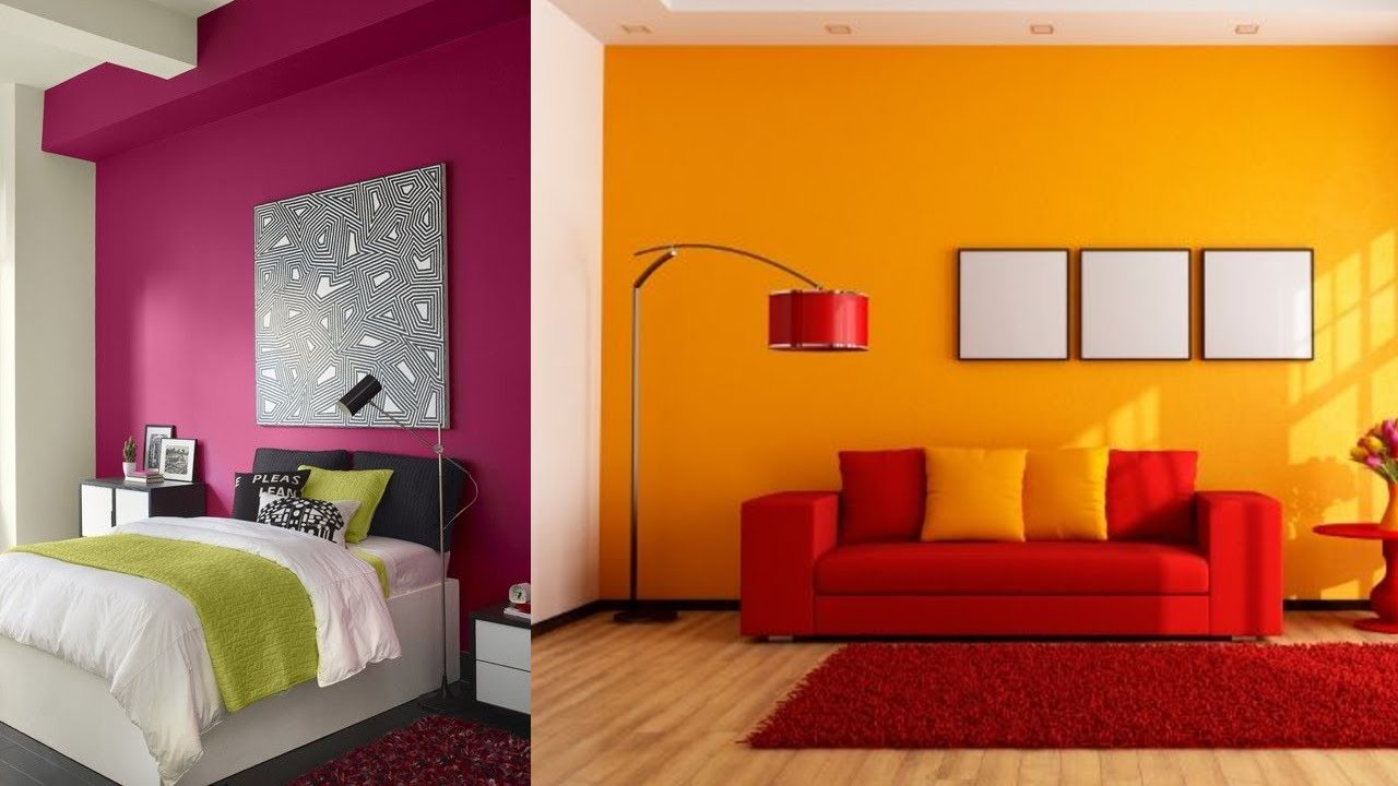 110 Modern Wall Color Combination for Living Room and ...