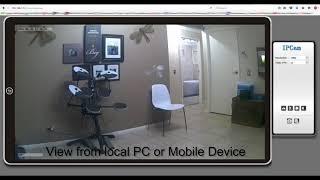 Wifi Camera Aobo 720P Wireless Ip Security Camera