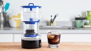 Cold brew coffee. In your kitchen.