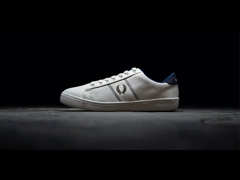 cda4f74931b The Reissues Tennis Shoe. Fred Perry footwear. - YouTube