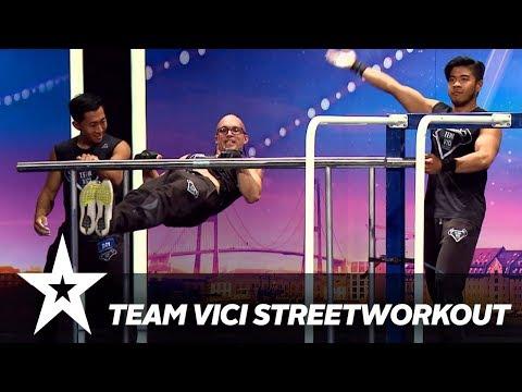Team Vici Streetworkout I Danmark har talent 2018 I Audition 3