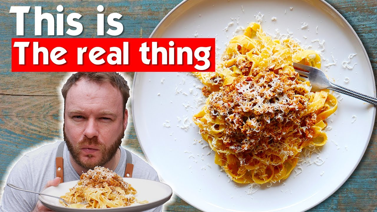 Download Ragu alla bolognese sauce done the RIGHT way!