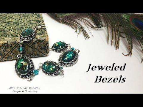 Jeweled Bezels-Polymer Clay Jewelry Tutorial