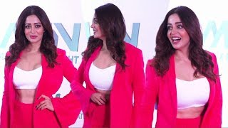 Neha Pendse Looks Hot In Pink Jacket At Tiger Shroff Matrix Fight Night Launch