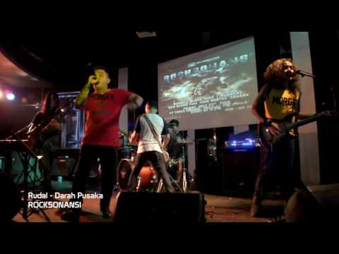 Musik rock era 90 an - Rudal Band asal kota bandung