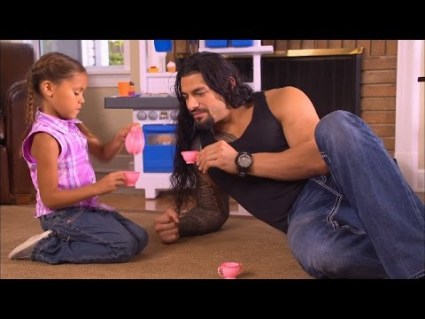 Thumbnail: Roman Reigns takes time to be a dad
