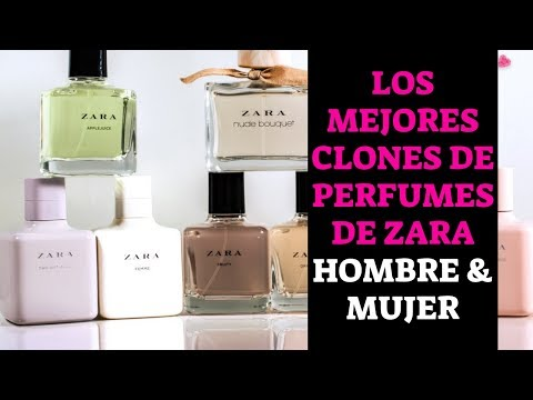 CLONES DE PERFUMES ZARA 2019 - 2020 | MUJER Y HOMBRE | EQUIVALENCIAS