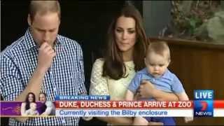 [Full Video] When Prince George Met Bilby George [HD]