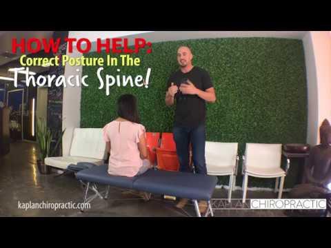 Thoracic Spine Adjustment - Miami Beach FL Chiropractor - Dr. Jordan Kaplan