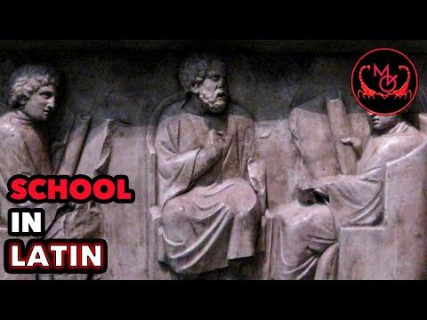 How to Speak Latin (School) / De Latine Loquendo (Schola Ludusque)