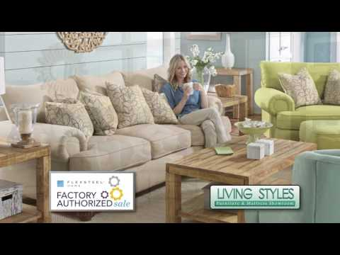 Living Styles Flexsteel Factory Authorized Sale Spring 2017 LL