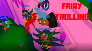 ANTISOCIAL TEENS LAG/TROLL ON FAIRY RP GAME | [Roblox] | 🏰Fairy World 🧚- FUNNY GAME PLAY