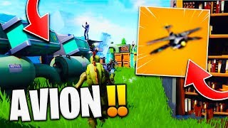 🔥 NEW VEHICLE 'SECRET' 'AVION' CONFIRMED SAISON 7!! on Fortnite Battle Royale!