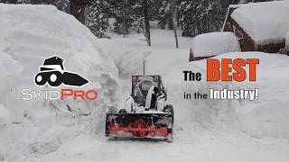 Skid Pro Snow Blower Quick Shots