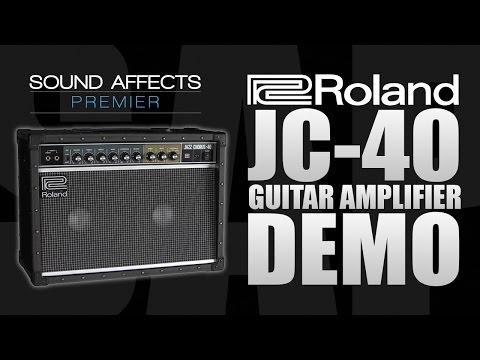 Roland JC-40 Jazz Chorus Guitar Amplifier Demo w/ Tom Quayle