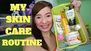 MOST REQUEST(para lalong MAPUTI MAKINIS MAGANDA ang SKIN) Skin Care Routine.