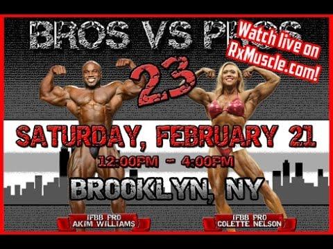 Bros Vs. Pros 23 Diamond Gym,Brooklyn NY!
