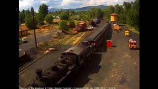 7/7/2018 Seven car train 215 arrives in Chama, NM