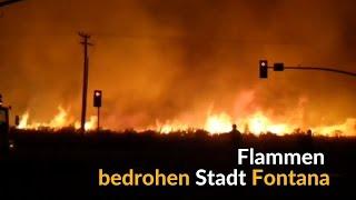 Amateuraufnahmen: Immer neue Brände in Kalifornien