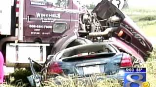 Three Injured in Dump Truck vs. Car Accident Near Cashton