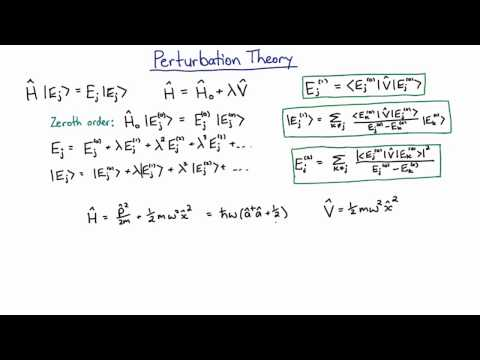 Phys3001 Example 20.1.1 Perturbation Theory