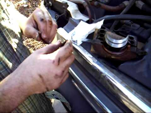Changing the rear main seal  Final
