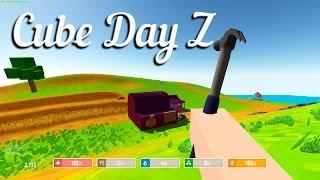 игра 'Cube Day Z' вконтакте