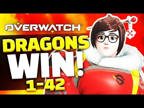 Overwatch - SHANGHAI DRAGONS WIN A GAME!!! (How did they do