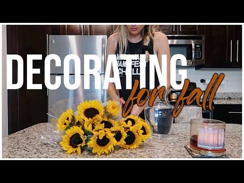 Cleaning & Decorating For Fall  Preparing for Autumn VLOG  RENEE AMBERG