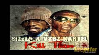 Vybz Kartel Ft Sizzla - Kill Them (Official Audio) (Throwback)