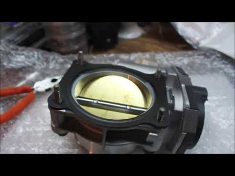 2010 Chevrolet Traverse Throttle Body TPS Replacement