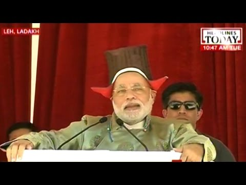 Modi at Hydel project launch: Leh will not live on borrowed power anymore