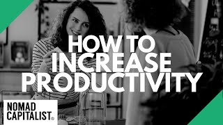 How To Increase Productivity As A Nomad