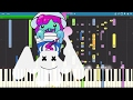 IMPOSSIBLE REMIX - Slushii x Marshmello - Twinbow - Piano Cover Instrumental