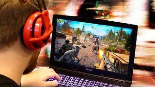 Проверяю игровой ноутбук, бросаю вызов Диме Масленникову!