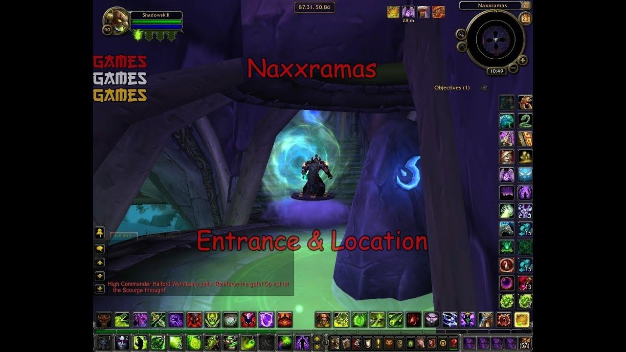 Dragon Soul Raid Location: Naxxramas Raid Entrance & Location