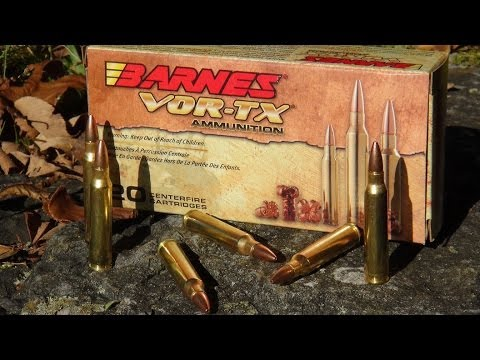 AMMO REVIEW: .223 Barnes VOR-TX 55 gr TSX (Copper) - YouTube