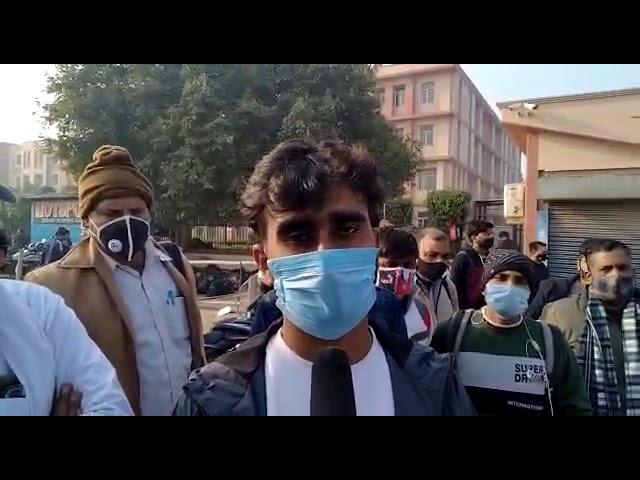 #नोएडा: दिल्ली पुलिस का एग्जाम देने आए एक दर्जन छात्रों को IIMT कॉलेज प्रशासन ने भगाया